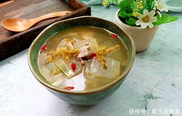 三伏天开胃汤品,咸鲜味美,简单易做,10分钟内可上桌