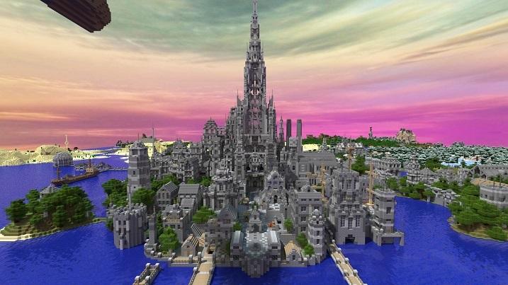 《我的世界》城堡