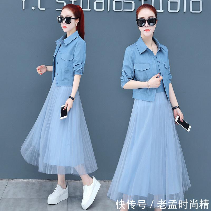 春季流行的网纱裙, 清新淡雅, 尽显浪漫少女气息