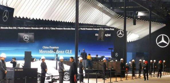 西安利星行事件对奔驰影响有多大,去了一趟上海奔驰展馆知道了