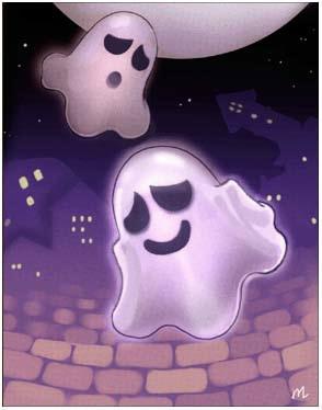 白幽灵卡片