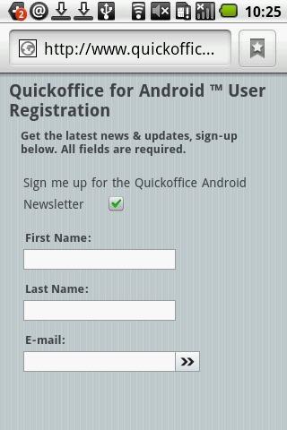 《 QuickOffice 》截图欣赏