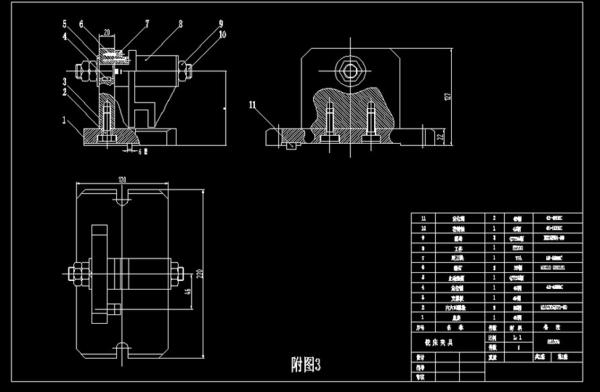 求木材夹具装配图美国铣床家具图片
