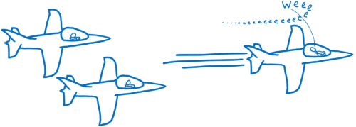 Racing jets