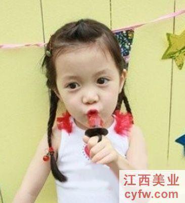 儿童梳头发型即简单又好看没刘海的怎么梳有图画和部
