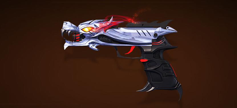 狼王套装副武器——手枪