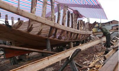船的龙骨结构图片
