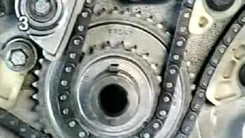 发动机更换正时链条全过程