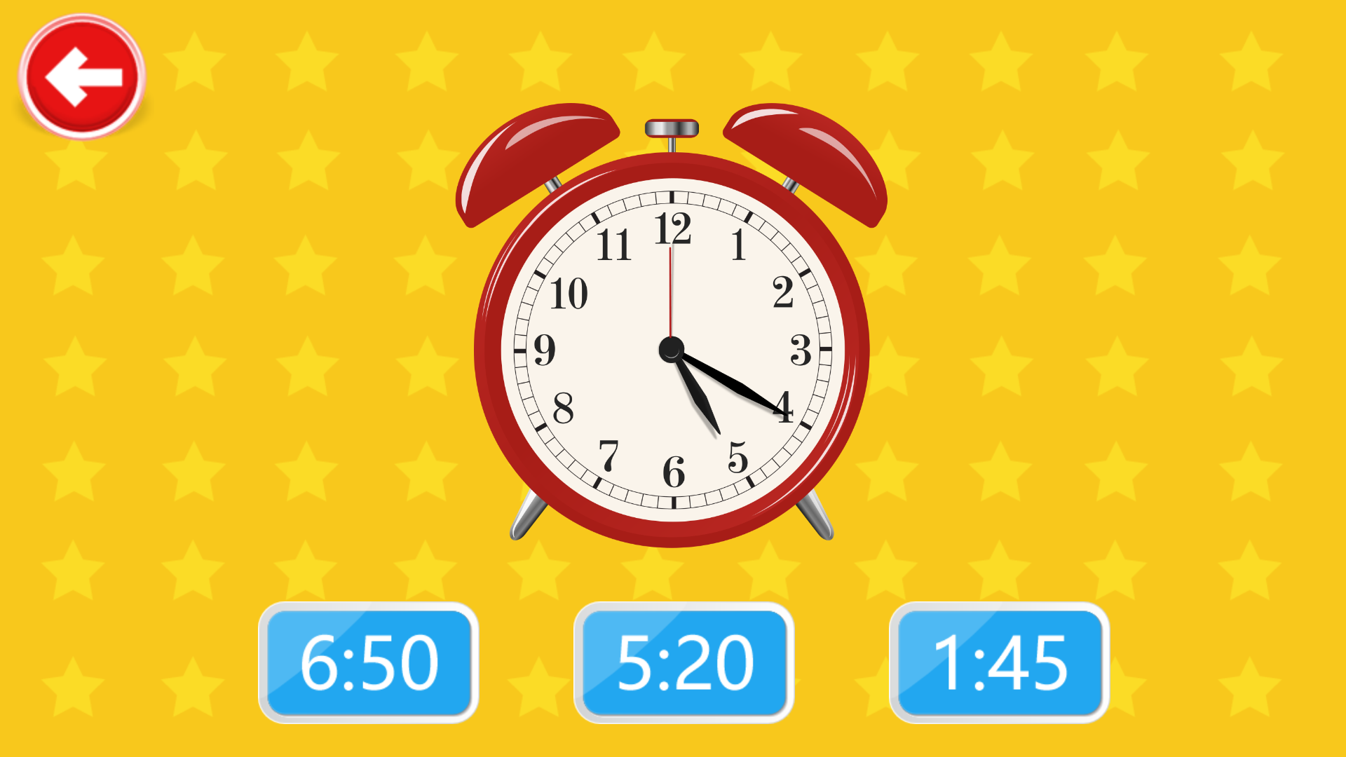 宝宝认时钟学时间