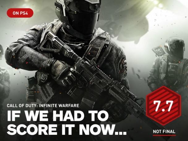 《使命召唤13:无限战争》IGN初评