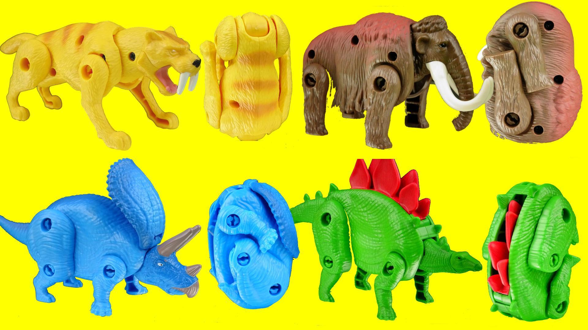 恐龙变形蛋惊喜玩具 奥特曼粉红猪小妹蜡笔小新面包超人超级飞侠.
