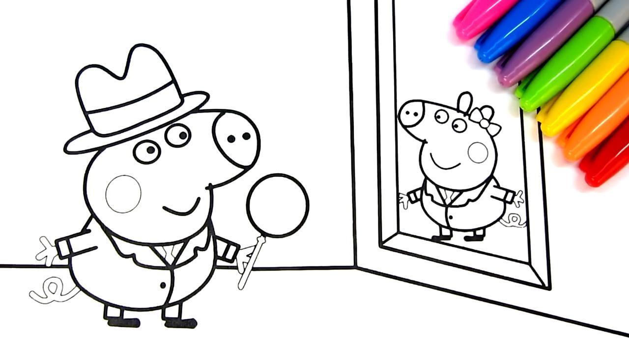 去参加画展卡通简笔画上色游戏-儿童手绘动漫儿歌-小范的画