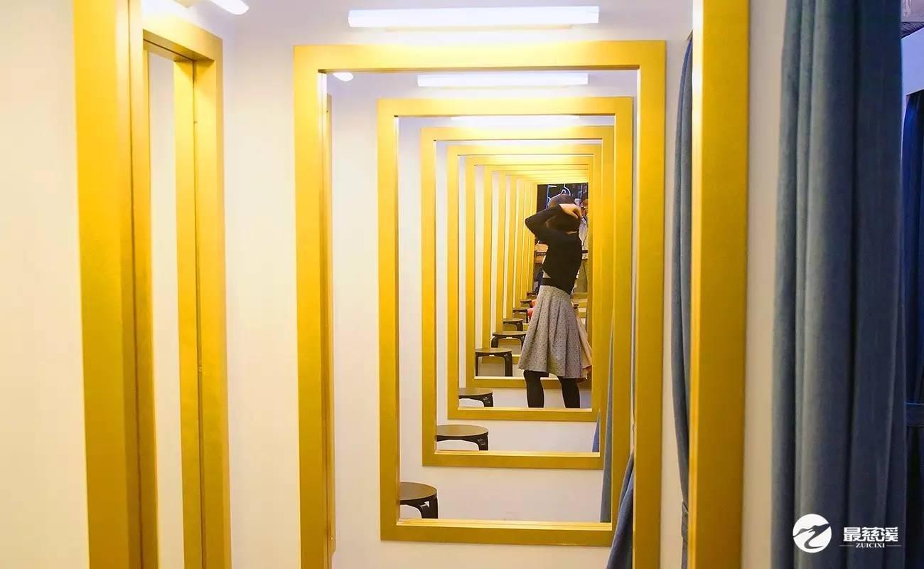试衣间镜子_幼儿园镜子装饰图片_镜子鞋柜装修效果图
