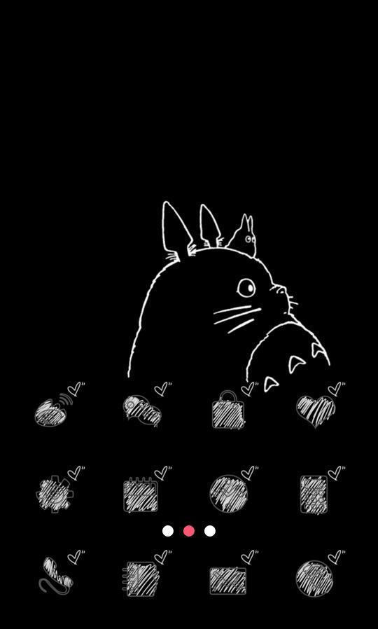 龙猫画法步骤图片