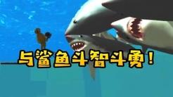 奇葩游戏:天才少吕教你被鲨鱼咬!