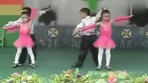 幼儿舞蹈视频大全-16快乐恰恰--(拉丁舞)学前班