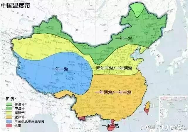 中国农业地图:身为中国人一定要看懂 - 一统江山 - 一统江山的博客