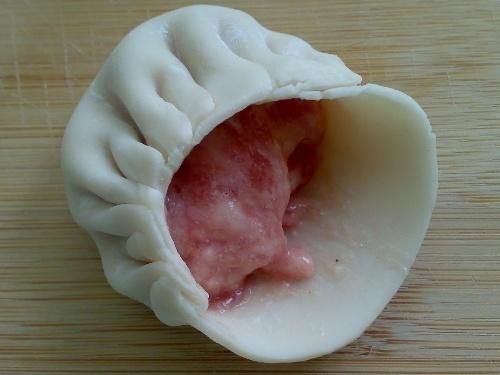 包饺子的方法月牙饺