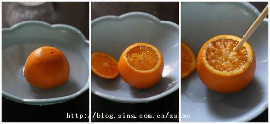 蒸橘子步骤图片