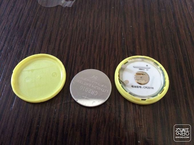 前(或后)盖,纽扣电池,c型卡环,电路板,圆形卡环,蜂鸣器,后(或前)盖
