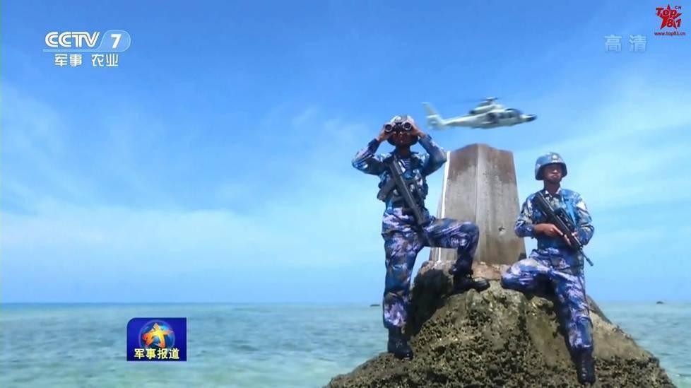不沉航母:中国西沙南沙岛礁已成海上城市 - 一统江山 - 一统江山的博客