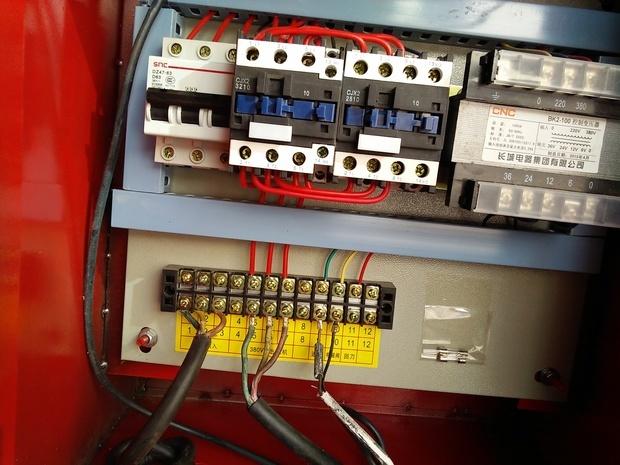 数控钢筋调直机加装行程开关怎样接线