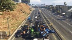 【GTA5】把直升机的重量修改为1万吨会怎样?瞬间压爆一辆车!