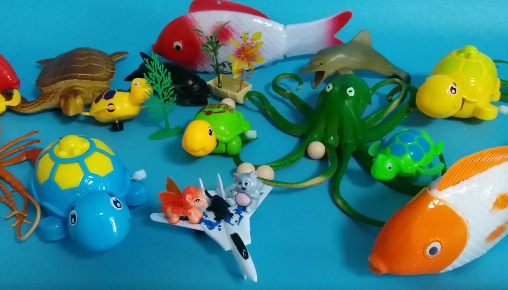 猪猪侠来到海底世界动物总动员 玩具展览馆