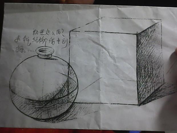素描如图可以帮我说一下步骤吗