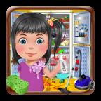 冰柜清洁女孩游戏