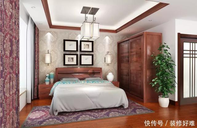 98㎡小家也有大格局,新中式风装修给你优雅时尚家居