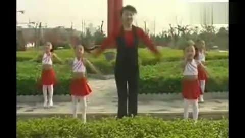 幼儿舞蹈《加油歌》 视频