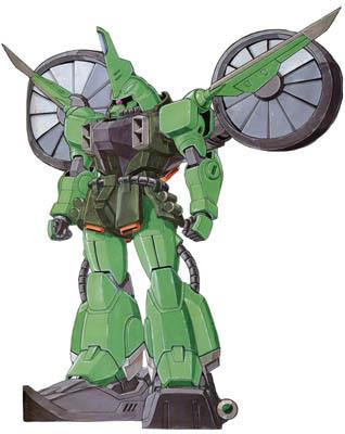 ZGMF-1000-AAL强袭登陆型扎古勇士