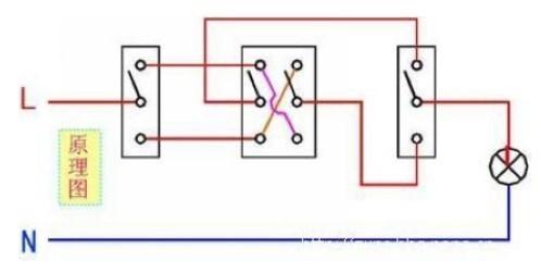 上百种电路接线法有图吗