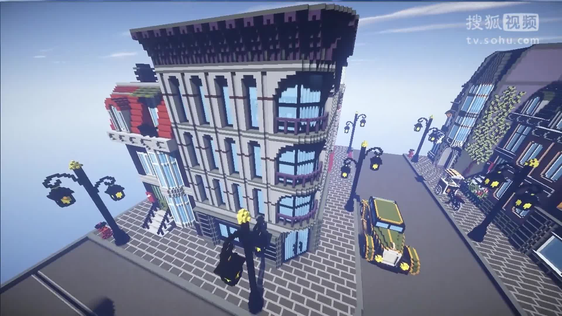 我的世界商店建筑_360视频
