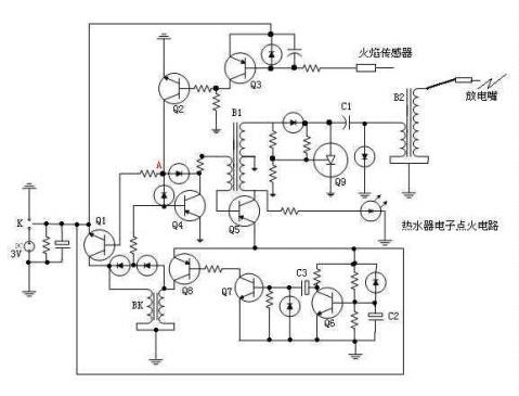 热水器电子打火原理是什么