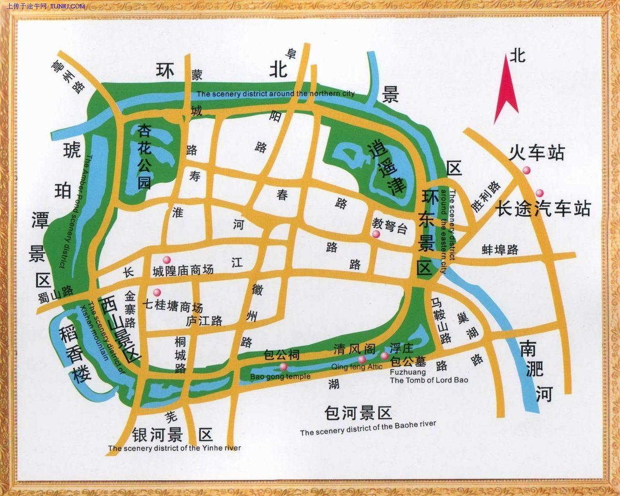 环城公园地图