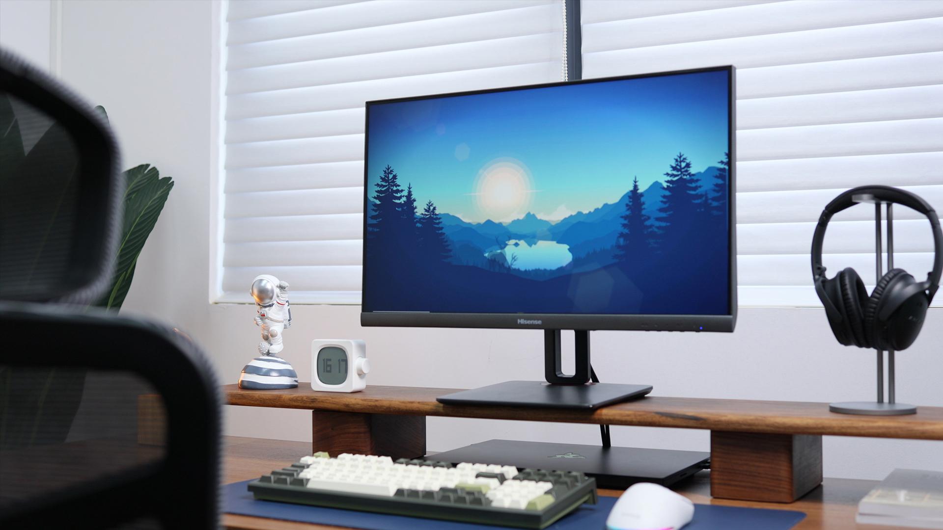 轻电科技 千元144Hz 海信入门电竞显示器24G5F体验