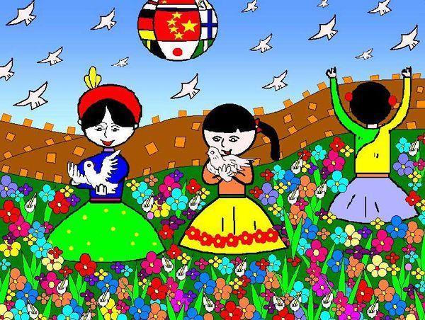 爱祖国爱家乡绘画儿童怎么画