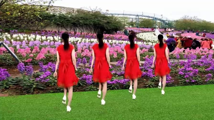 广场舞《最美不过你的笑》再美丽的风景也比不过你的笑迷人