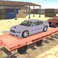 货运列车车厢转运3D