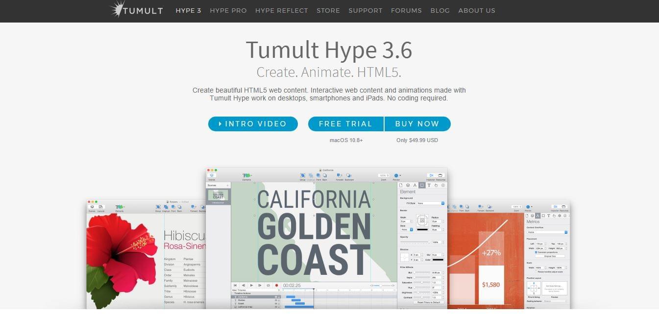 Tumult's Hype 3