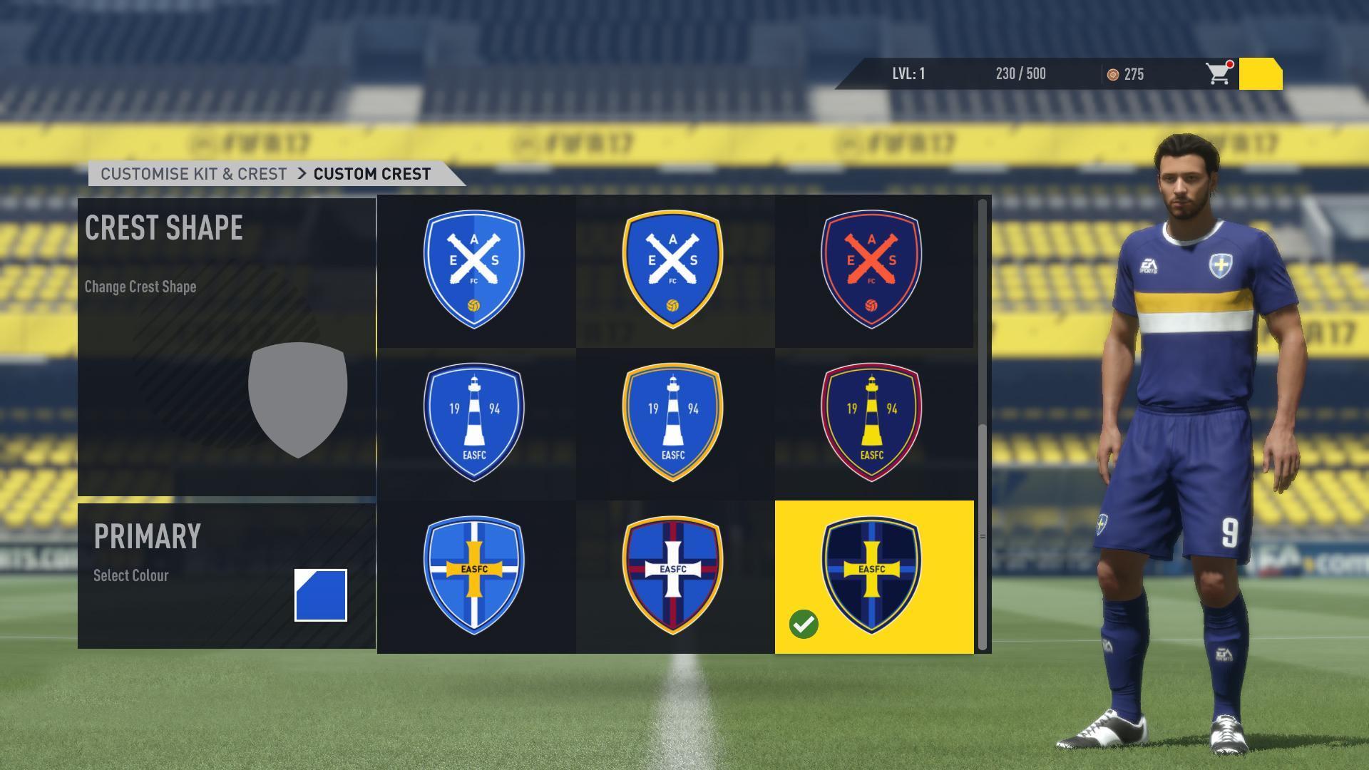 《FIFA 17》Pro Club模式更新
