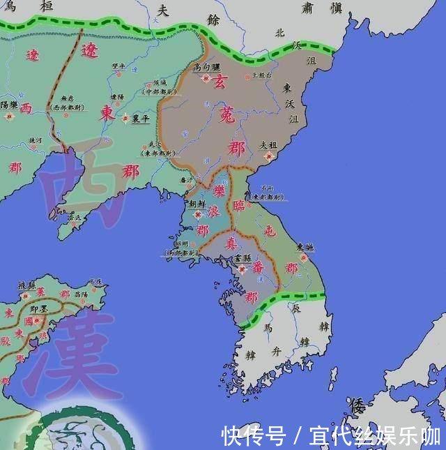 东汉末年其实是 四国演义 , 不要被 三国演义 骗了