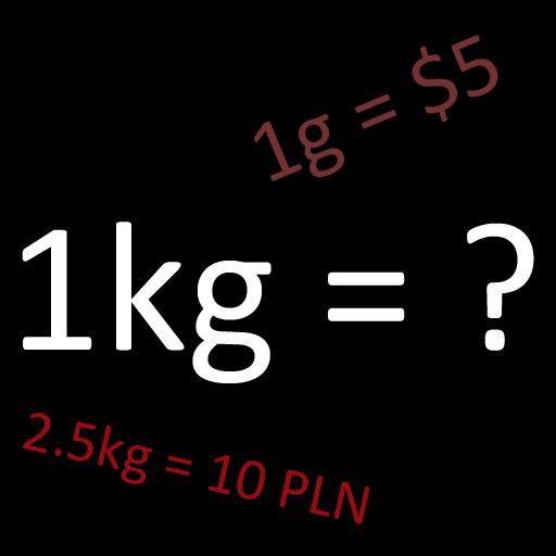 Kalkulator Cena za kilogram
