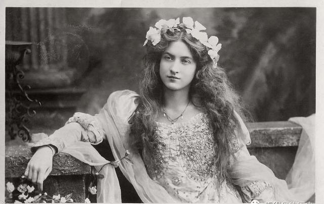 百年前的美国女演员那时候的古典美女看看到底多美