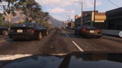英特尔团队为《GTA5》打造极度真实画面 犹如逛现实街道