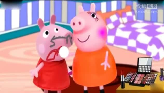 小猪佩奇第3季中文版 粉红猪小妹玩具视频 小猪佩奇动画片