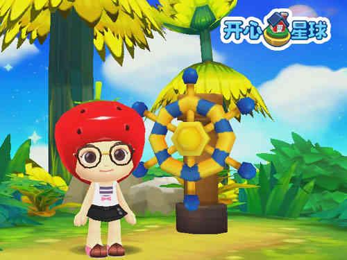 网络游戏 开心星球  游戏介绍      《开心星球》是一款3d网游新作.