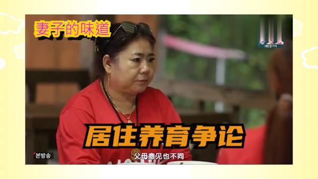 妻子的味道:韩国女星想让宝宝入韩籍,中国婆婆不同意